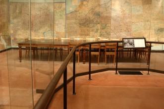 Salle des cartes du Musée de la reddition