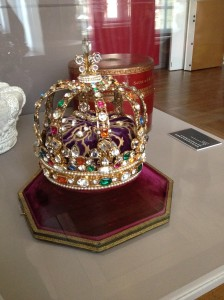 Reproduction de la couronne de Louis XV