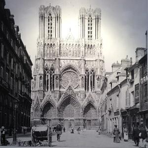la cathédrale de Reims avant la 1ère guerre mondiale