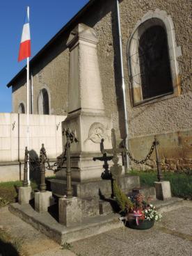 Monument aux morts de Burey-en-Vaux construit par Alfred Royer - Crédit photo Grunwald Gérard