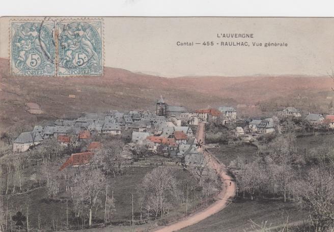 L'AUVERGNE Cantal - 455 - RAULHAC, Vue générale