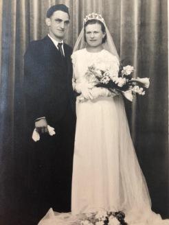 Photo de leur mariage le 23 mars 1940