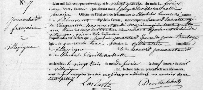 Jouanetaud_francoise_D_chatelus_1845