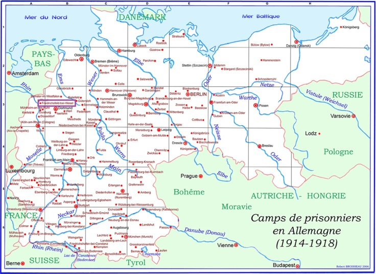 camps-de-prisonniers-en-Allemagne-1914-1918